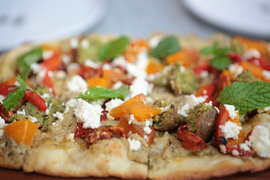 Fabulous Middle Eastern Pizza